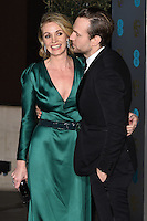 Elise Du Toit and Rafe Spall<br /> at the 2017 BAFTA Film Awards After-Party held at the Grosvenor House Hotel, London.<br /> <br /> <br /> &copy;Ash Knotek  D3226  12/02/2017