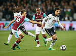 West Ham's Mark Noble tussles with Tottenham's Dele Alli during the Premier League match at the London Stadium, London. Picture date: May 5th, 2017. Pic credit should read: David Klein/Sportimage