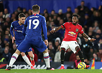 Fred of Manchester United in action during Chelsea vs Manchester United, Premier League Football at Stamford Bridge on 17th February 2020