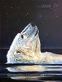 Sandi, REALISTIC ANIMALS, REALISTISCHE TIERE, ANIMALES REALISTICOS, paintings+++++,USSN59,#a#, EVERYDAY ,polar bears ,puzzles