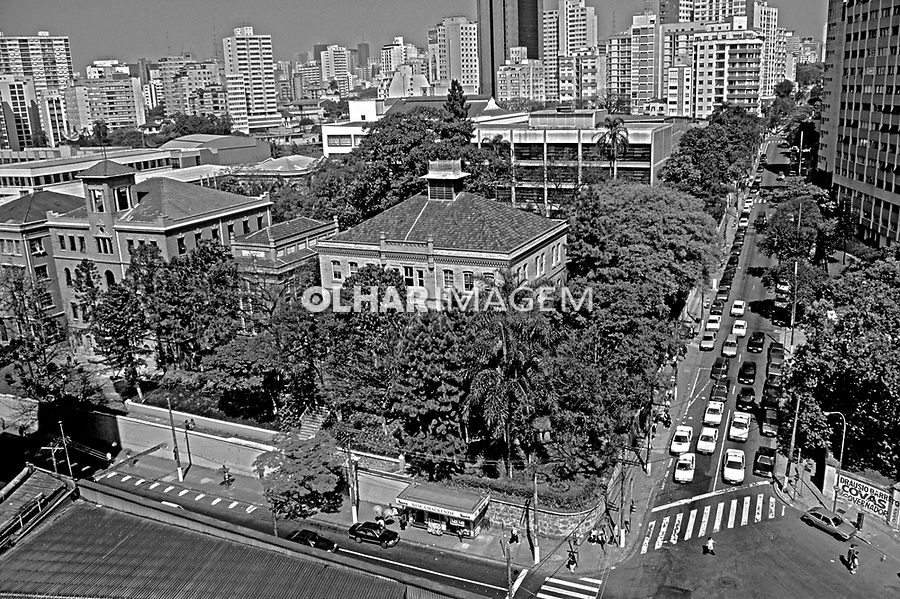 Colegio Presbiteriano Mackenzie. São Paulo. 1990. Foto de Juca Martins.
