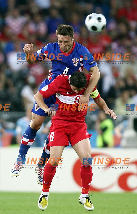 MG Vienna ( Austria) 20/06/2008  - Euro 2008 / Croazia-Turchia/ Foto Andrea Staccioli / Insidefoto<br /> Nella foto: Kovac-Kahveci