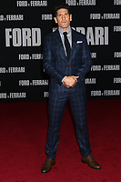"""LOS ANGELES - NOV 4:  Jon Bernthal at the """"Ford v Ferrari"""" Premiere at TCL Chinese Theater IMAX on November 4, 2019 in Los Angeles, CA"""