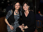 Loredana Rossi and Kerry Morgan pictured at the 80's night in the Rugby club. Photo: Colin Bell/pressphotos.ie