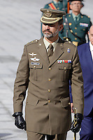 "Prince Felipe of Spain attends the ""Guardia Civil"" Seacoast and Borders Watching Coordination Center"