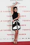 Sara Salamo attends to 'Todos lo Saben' film photocall at Urso Hotel in Madrid, Spain. September 12, 2018. (ALTERPHOTOS/A. Perez Meca)