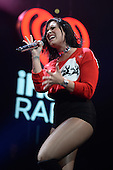 SUNRISE FL - DECEMBER 18: Demi Lovato performs at the Y100 Jingle Ball 2015 held at The BB&T Center on December 18, 2015 in Sunrise, Florida. (Photo by Larry Marano © 2015