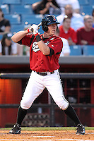 Nashville Sounds outfielder Brendan Katin #39 at bat during a game against the Omaha Storm Chasers at Greer Stadium on April 25, 2011 in Nashville, Tennessee.  Omaha defeated Nashville 2-1.  Photo By Mike Janes/Four Seam Images