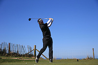 Callum Farr during Round Two of the West of England Championship 2016, at Royal North Devon Golf Club, Westward Ho!, Devon  23/04/2016. Picture: Golffile | David Lloyd<br /> <br /> All photos usage must carry mandatory copyright credit (&copy; Golffile | David Lloyd)