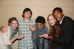 Guiding Light's Bonnie Dennison, Zack Conroy, Caitlin Van Zandt & Lawrence Saint-Victor congratulate EJ Bonilla (C) (Younger Actor Emmy Nominee) at the 36h Annual Daytime Entertainment Emmy® Awards Nomination Party - Sponsored By: Good Housekeeping and The National Academy of Television Arts & Sciences (NATAS) on Thursday, May 14, 2009 at Hearst Tower, New York City, New York (Photo by Sue Coflin/Max Photos)....