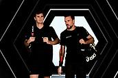 3rd November 2017, Paris, France; Rolex Masters tennis tournament;  Jamie Murray (gbr) and Bruno Soares (bra)