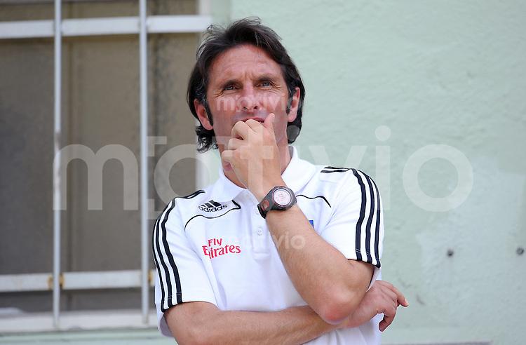 FUSSBALL     1. BUNDESLIGA     SAISON 2009/2010     14.07.2009 Testspiel  SpVgg Unterhaching - Hamburger SV  , HSV Trainer Bruno Labbadia  ( Hamburger SV )