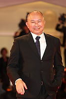 John Woo walk the red carpet ahead of the 'Manhunt (Zhuibu)' screening during the 74th Venice Film Festival at Sala Darsena on September 8, 2017 in Venice, Italy. <br /> CAP/GOL<br /> &copy;GOL/Capital Pictures