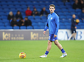 31st October 2017, Cardiff City Stadium, Cardiff, Wales; EFL Championship football, Cardiff City versus Ipswich Town; Craig Bryson of Cardiff City warming up before the game