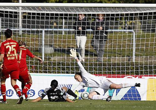 16 10 2011   Bundesliga 1 FFC Frankfurt vs FC Bayern  Munich Fatmire Bajramaj score the goal for 1-0  . Mandatory Credit: ActionPlus