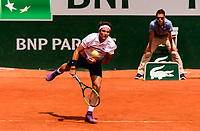 ELLIOT BENCHETRIT (FRA)<br /> <br /> TENNIS - FRENCH OPEN - ROLAND GARROS - ATP - WTA - ITF - GRAND SLAM - CHAMPIONSHIPS - PARIS - FRANCE - 2018  <br /> <br /> <br /> <br /> &copy; TENNIS PHOTO NETWORK