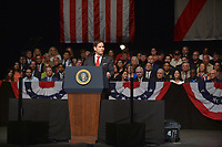 MIAMI, FL - JUNE 16: U.S. Sen. Marco Rubio (R-FL) speaks ahead of President Donald Trump announcing policy changes toward Cuba at the Manuel Artime Theater in the Little Havana neighborhood on June 16, 2017 in Miami, Florida. The President will re-institute some of the restrictions on travel to Cuba and U.S. business dealings with entities tied to the Cuban military and intelligence services.  Credit: MPI10 / MediaPunch