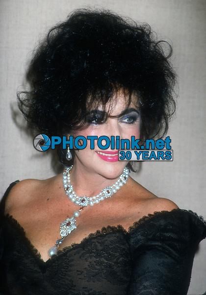 Elizabeth Taylor, 1994, Photo By Michael Ferguson/PHOTOlink