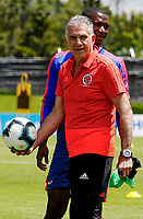 BOGOTA, COLOMBIA - JUNE 5: Colombia's national soccer coach Carlos Queiroz during a training session on June 5, 2019 in Bogota, Colombia. Colombia will face Argentina, Paraguay and Qatar on their first stage of the Copa America Brazil 2019.   (Photo by VIEWPRESS/Leonardo Muñoz)