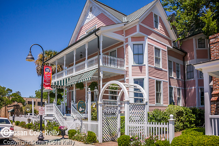 B&B inn in Beaufort, SC, a National Historic District.