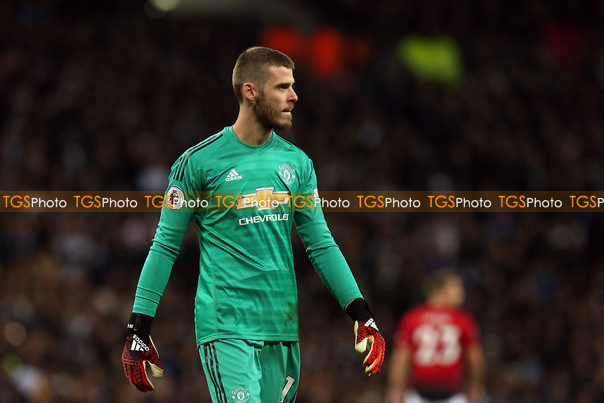 David De Gea of Manchester United during Tottenham Hotspur vs Manchester United, Premier League Football at Wembley Stadium on 13th January 2019
