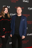"""LOS ANGELES - MAR 5:  Gala Avary, Roger Avary at the """"American Gods"""" Season 2 Premiere at the Theatre at Ace Hotel on March 5, 2019 in Los Angeles, CA"""