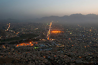 View of Kabul from above. Picture taken from TV Mountain. 8-9-10