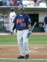 August 19, 2004:  Anton French (50) of the Syracuse Sky Chiefs, Class-AAA International League affiliate of the Toronto Blue Jays, during a game at Frontier Field in Rochester, NY.  Photo by:  Mike Janes/Four Seam Images