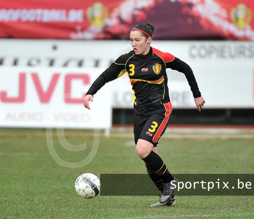 Russia U19 - Belgium U19 :  Elien Van Wynendaele .foto DAVID CATRY / Nikonpro.be