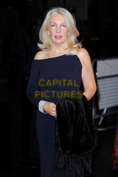 Amanda Nevill <br /> attending the 57th BFI London Film Festival Closing Night Gala World Premiere of 'Saving Mr Banks', Odeon Cinema, Leicester Square, London, England. <br /> 20th October 2013<br /> half length blue one sleeve dress <br /> CAP/MAR<br /> &copy; Martin Harris/Capital Pictures