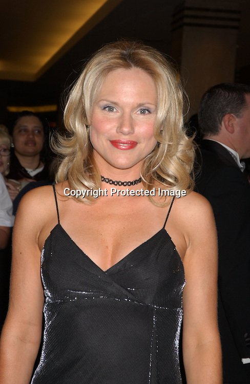 Beth Chamberlin of gl                               ..arriving at the Emmy Awards dinner at the Sheraton in ..New York City on May 16,2003 ...Photo by Robin Platzer, Twin Images