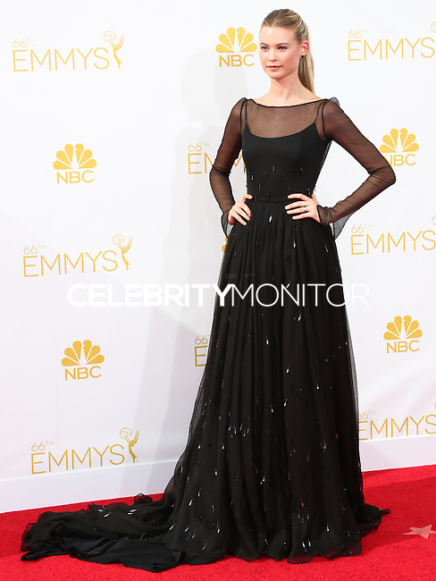 LOS ANGELES, CA, USA - AUGUST 25: Model Behati Prinsloo arrives at the 66th Annual Primetime Emmy Awards held at Nokia Theatre L.A. Live on August 25, 2014 in Los Angeles, California, United States. (Photo by Celebrity Monitor)