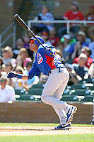 Aramis Ramirez #16 of the Chicago Cubs plays against the Arizona Diamondbacks in a spring training game at Salt River Fields on March 13, 2011 in Scottsdale, Arizona. .Photo by:  Bill Mitchell/Four Seam Images.