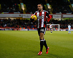 Samir Carruthers of Sheffield Utd during the Championship match at Bramall Lane Stadium, Sheffield. Picture date 26th December 2017. Picture credit should read: Simon Bellis/Sportimage