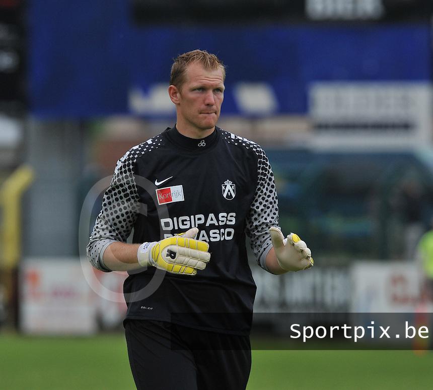 KV Kortrijk : Kristof Van Hout.foto VDB / BART VANDENBROUCKE