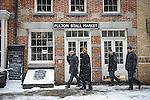 South Street Seaport: Chef Demo Fulton Stall Market