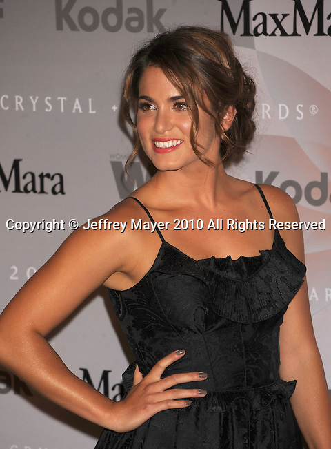 CENTURY CITY, CA. - June 01: Nikki Reed  arrives at the 2010 Crystal + Lucy Awards: A New Era at Hyatt Regency Century Plaza on June 1, 2010 in Century City, California.