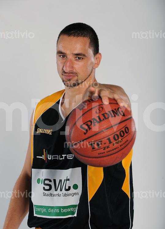 Basketball 1. Bundesliga  2008/2009   01.09.2008  Walter Tigers Tuebingen  Rasko Katic (WT)