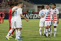 GEORGETOWN, GRAND CAYMAN, CAYMAN ISLANDS - NOVEMBER 19: Jordan Morris #11 and Josh Sargent #19 of the United States celebrate a Josh Sargent goal during a game between Cuba and USMNT at Truman Bodden Sports Complex on November 19, 2019 in Georgetown, Grand Cayman.