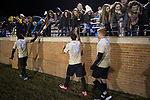 Wake Forest students were on hand to support the Demon Deacon men's soccer team as they took on the Columbia Lions in the second round of the 2017 NCAA Men's Soccer Championship at Spry Soccer Stadium on November 19, 2017 in Winston-Salem, North Carolina.  The Demon Deacons defeated the Lions 1-0.  (Brian Westerholt/Sports On Film)