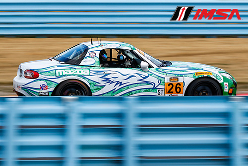30 June-2 July, 2016, Watkins Glen, New York USA<br /> 26, Mazda, MX-5, ST, Andrew Carbonell, Liam Dwyer<br /> &copy;2016, Jake Galstad<br /> LAT Photo USA