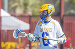 Santa Barbara, CA 04/16/16 - Colin Harvey (UCSB #6) in action during the final regular MCLA SLC season game between Chapman and UC Santa Barbara.  Chapman defeated UCSB 15-8.
