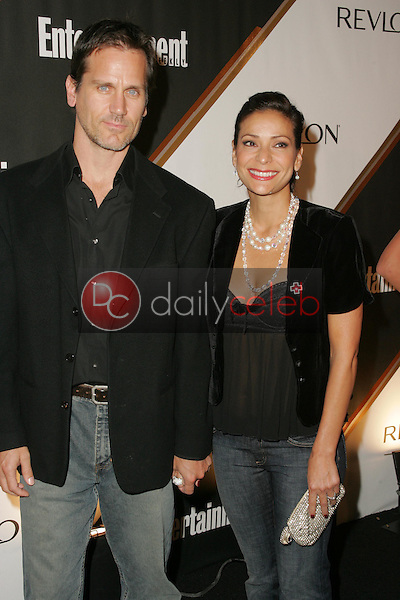 Constance Marie and friend<br /><br />at the Third Annual Entertainment Weekly Pre-Emmy Party. Cabana Club, Hollywood, CA. 09-17-05<br />Dave Edwards/DailyCeleb.Com 818-249-4998