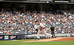 Masahiro Tanaka (Yankees),<br /> SEPTEMBER 21, 2014 - MLB :<br /> Masahiro Tanaka of the New York Yankees pitches during the Major League Baseball game against the Toronto Blue Jays at Yankee Stadium in Bronx, New York, United States. (Photo by AFLO)