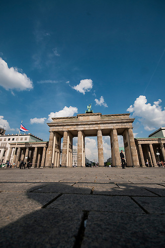 Middle of Berlin, in the middle of summer, 2012<br /> Brandenburg gate
