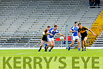 Ross O'Callaghan Kerins O Rahillys goes past Kieran O'Leary Dr Crokes during their County Championship clash in Fitzgerald Stadium on Sunday