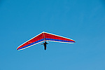 Hang gliding, hang glider, Fort Funston, San Francisco, California, USA.  Photo copyright Lee Foster.  Photo # california108428