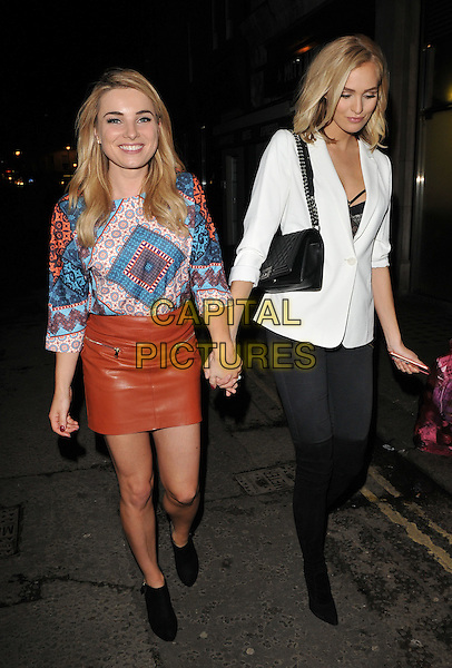 Sian Welby &amp; Ianthe Rose Cochrane-Stack attend the Lilah Parsons debut capsule collection for Yumi launch party, 15 Bateman Street, Bateman Street, London, UK, on Tuesday 01 December 2015.<br /> CAP/CAN<br /> &copy;Can Nguyen/Capital Pictures
