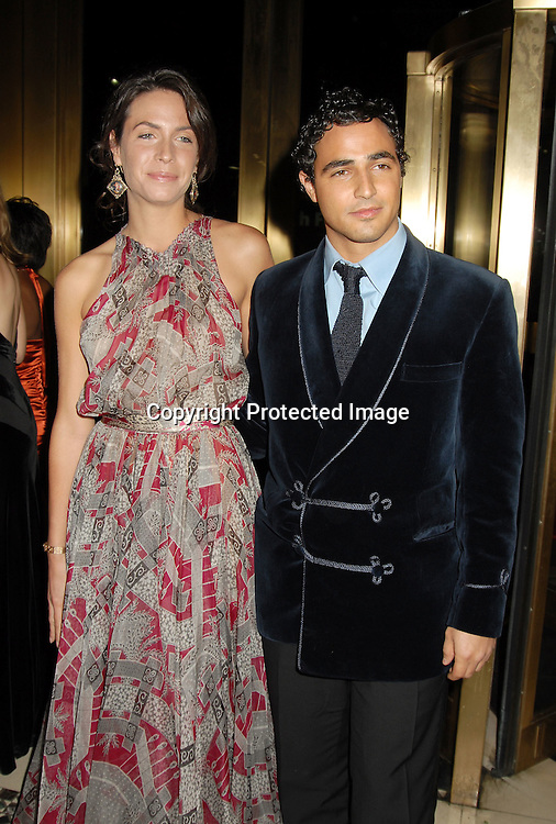 Alexia Kondylisis and Zac Posen ..at The 7th Annual New Yorkers for Children Fall Gala ..on September 21, 2006 at Cipriani 42nd Street. ..Robin Platzer, Twin Images
