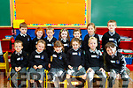 Learning<br /> ------------<br /> Junior infants from Scoil Nuachabh&aacute;il, Ballymac at their first day at school last Wednesday.